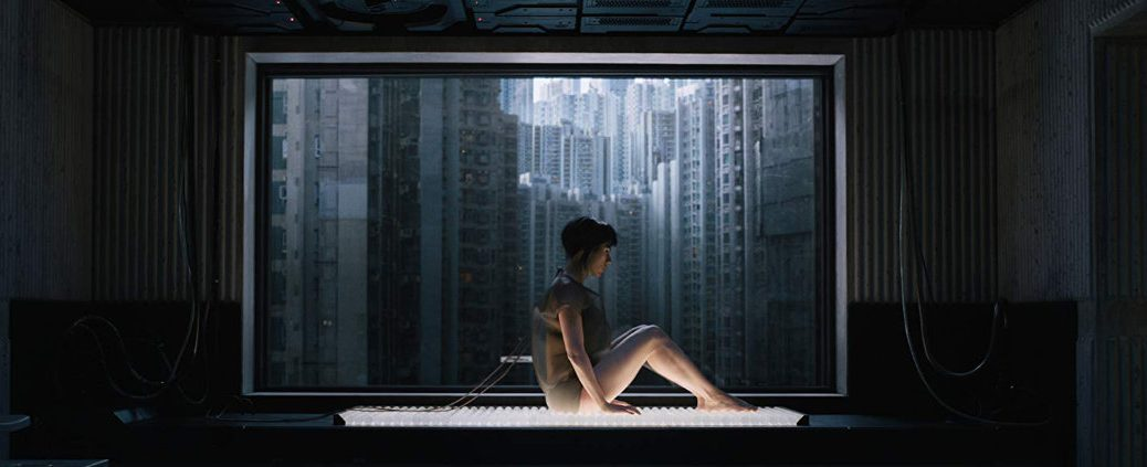 Ghost in the Shell with Scarlett Johansson