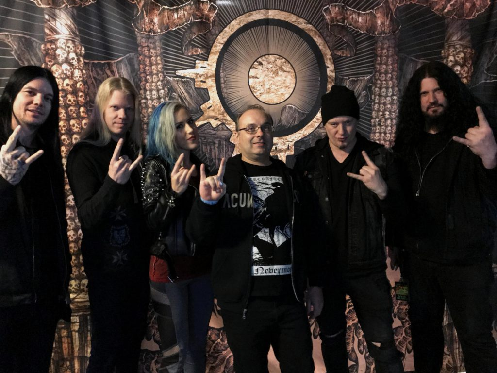 with Arch Enemy