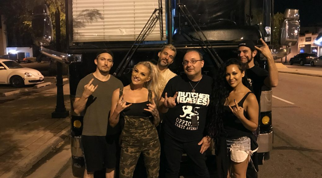 with the Butcher Babies