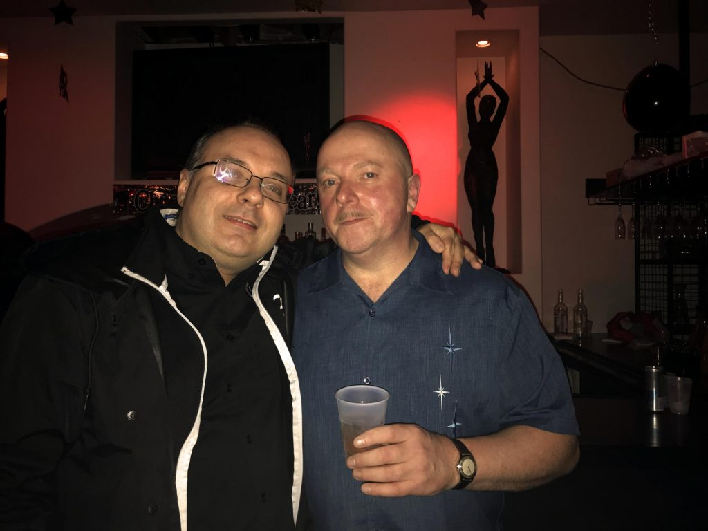 with Ronan Harris of VNV Nation