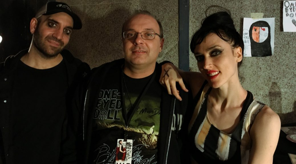 with Kimberly and Jason of One-Eyed Doll