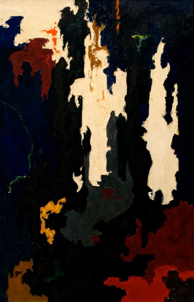 Clyfford Still painting