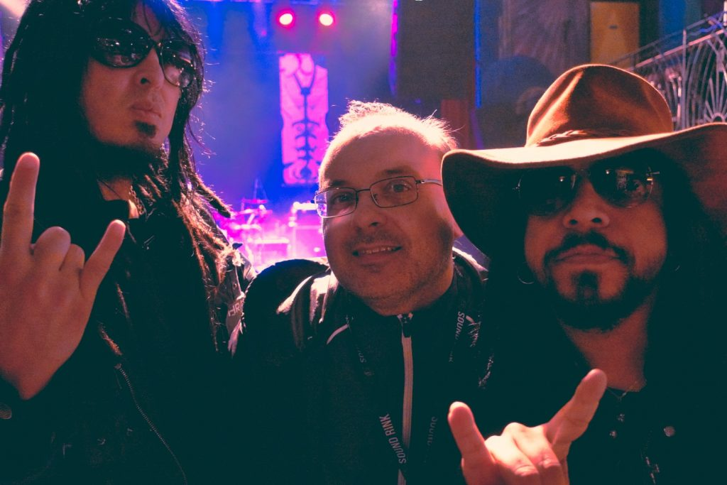 with Sin Quirin and Dietrich Thrall
